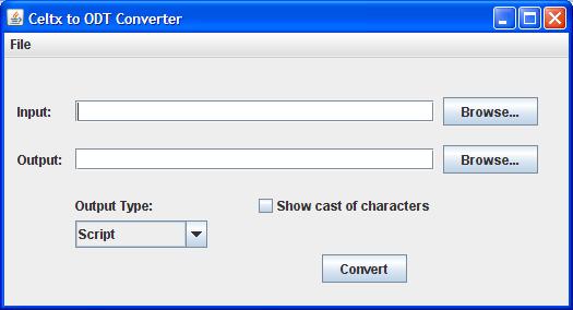 convert celtx file to pdf